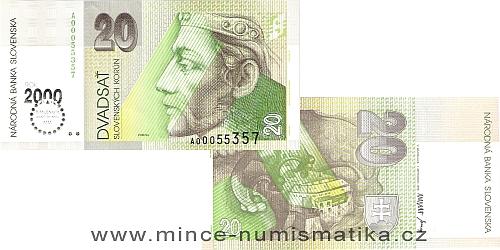20 Sk Bimilénium 2000 UNC