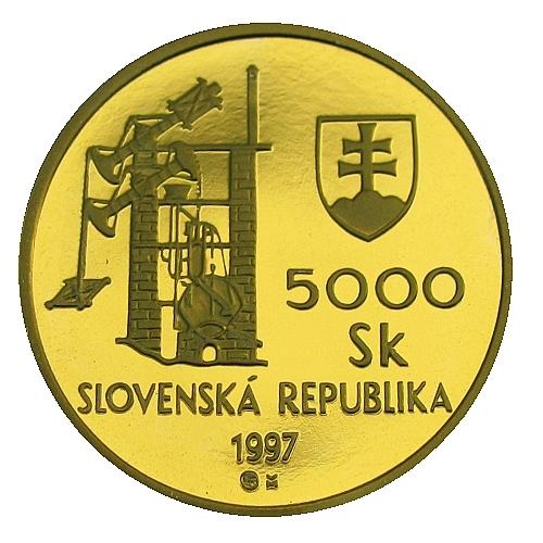 02_1997_5000Sk_Banska_Stiavnica_mince_avers