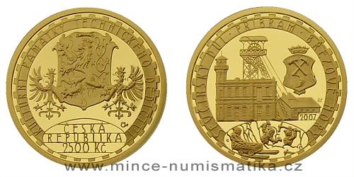 2500 Kč - Národní kulturní památka Ševčínský důl Příbram - Březové hory