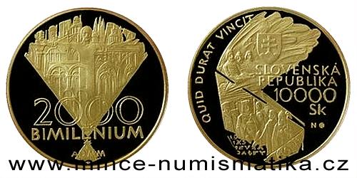 10000 Sk - Jubilejní rok 2000 - Bimilénium