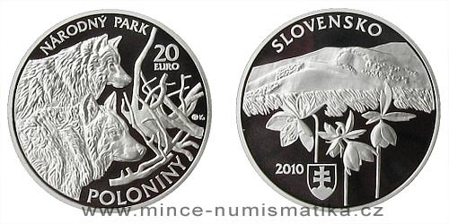 20 € - Ochrana přírody a krajiny - Národní park Poloniny
