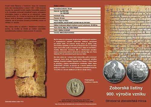 06_2011_10_Euro_Zoborske_listiny_letak_1