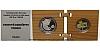 Soubor Au + Ag - Světové dědictví UNESCO - Vlkolínec (rozkládací dřev. etue)