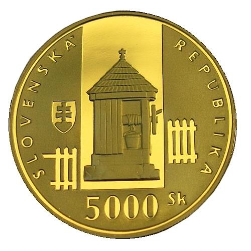 07_2002_5000Sk_Vlkolinec_mince_avers