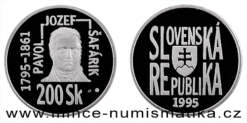 200. výročí narození Pavla Jozefa Šafárika