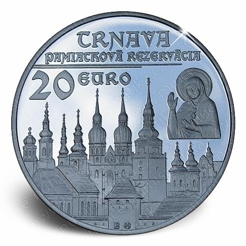 09_2011_20_Euro_Trnava_mince_revers_proof