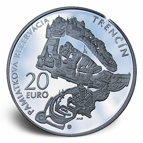 10_2012_20_Euro_Trencin_mince_revers_proof