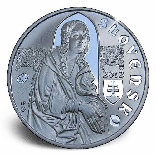 11_2012_10_Euro_Pavel_z_Levoce_mince_avers