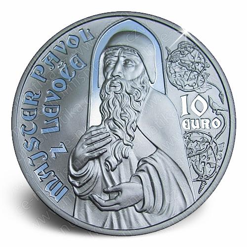 11_2012_10_Euro_Pavel_z_Levoce_mince_revers
