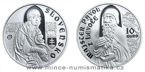 10 € - Majster Pavol z Levoče