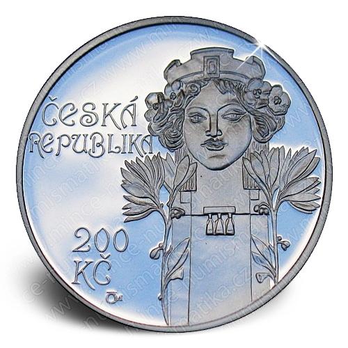 11_2012_200Kc_Obecni_dum_v_Praze_mince_avers