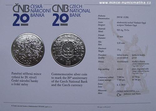 12_2013_200Kc_20_let_CNB_a_ceske_meny_certifikat
