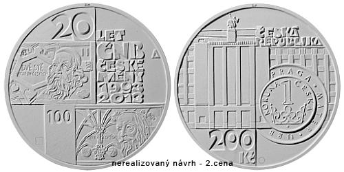12_2013_200Kc_20_let_CNB_a_ceske_meny_nerealizovany_navrh_2