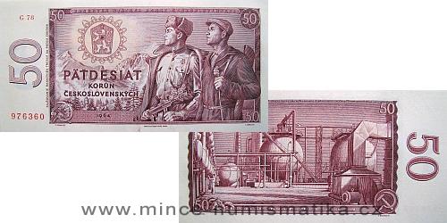50 Kčs 1964