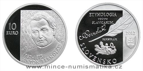 10 € - 250. výročie narodenia Antona Bernoláka
