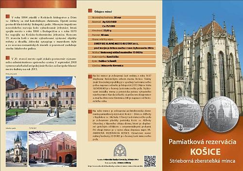 15_2013_20_Euro_Pamatkova_rezervace_Kosice_letak_1