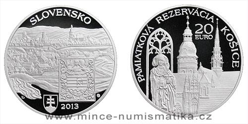 20 € - Památková rezervace Košice, Košice - Evropské hlavní město kultury
