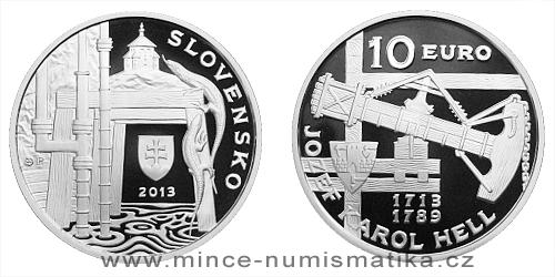 10 € - 300. výročie narodenia - Jozef Karol Hell