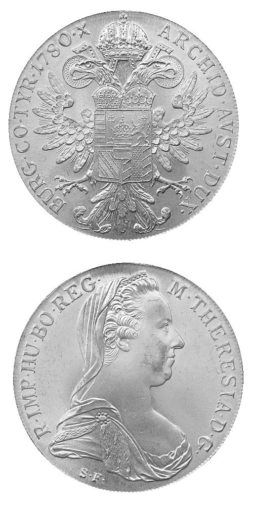 1780_Levantsky_tolar_Marie_Terezie_Ag_mince