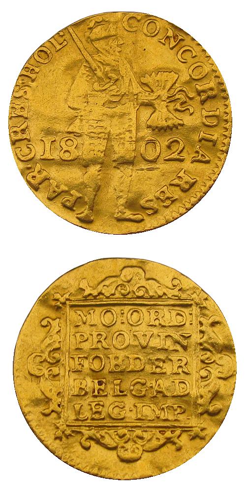 1802_1_dukat_Holandsko_Au_mince