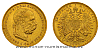 20 koruna FJI RU 1899 b.z. (rakouská) - vzácná