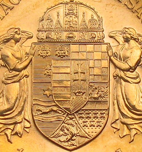 1908_100_koruna_KB_FJI_RU_Au_mince_3_detail