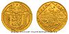1928 - 4 dukátová zlatá medaile Jsem ražen z českého kovu