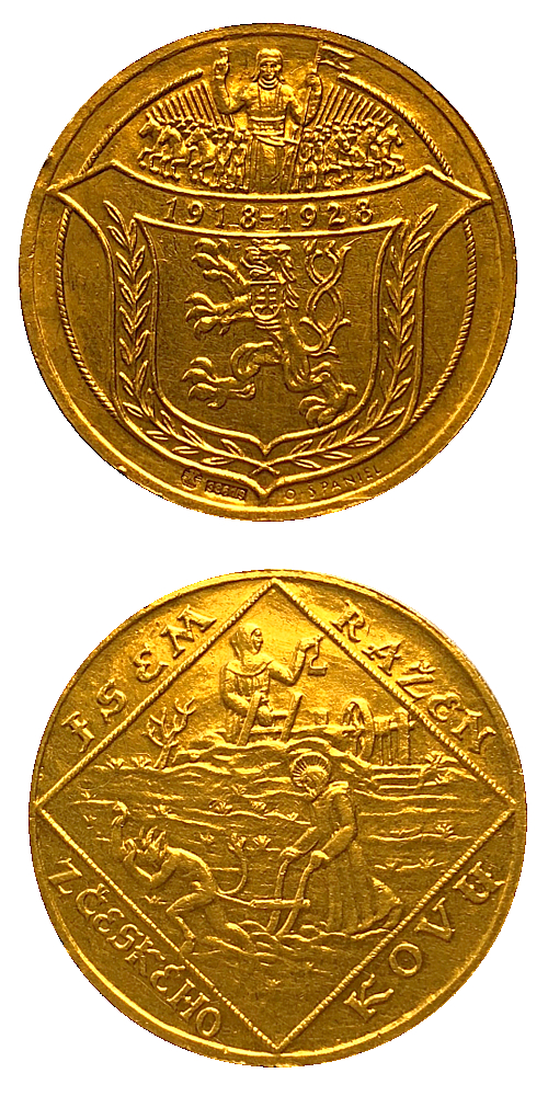 1928_4_dukat_medaile_Jsem_razen_z_ceskeho_kovu_Au_3_velka