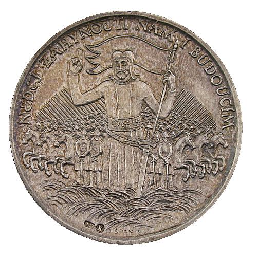 1929_1000._vyroci_zavrazdeni_sv._Vaclava_Ag_mince_avers_2