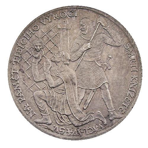 1929_1000._vyroci_zavrazdeni_sv._Vaclava_Ag_mince_revers_2