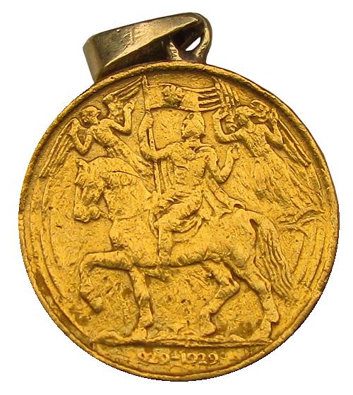 1929_1_dukatova_medaile_Millenium_sv._Vaclava_Au_avers_2