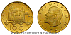 1970 - Zlatý dukát 100. výročí narození V. I. Lenina
