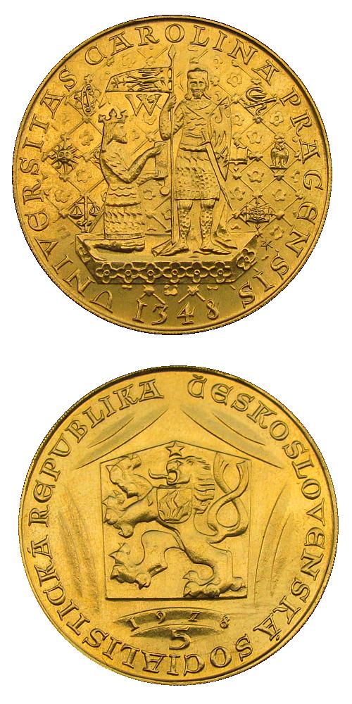 1978_5_dukat_Karel_IV._Au_mince