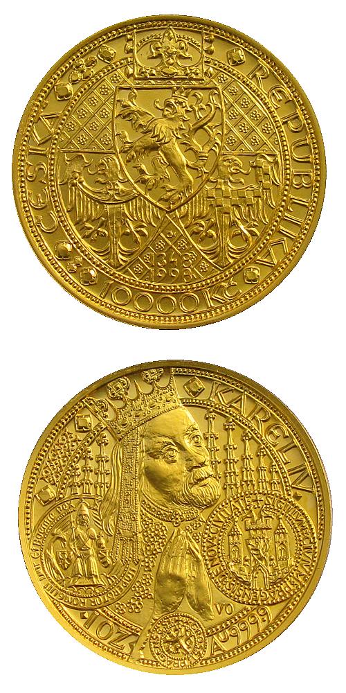 1998_10000_Kc_Karel_IV._Au_bk_mince