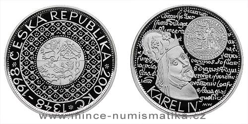 200 Kč - 650. výročí založení University Karlovy