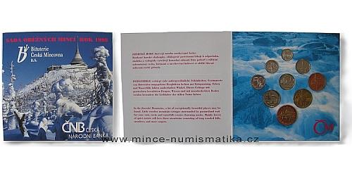 Sada oběžných mincí ČR 1998 - Standart (Zima)