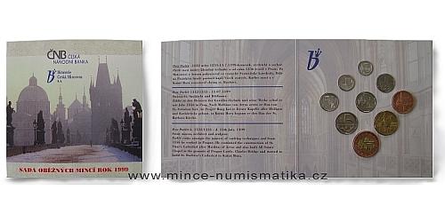 Sada oběžných mincí ČR 1999 - P. Parléř