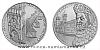 Stříbrná investiční medaile 650 let od položení základního kamene Karlova mostu 1 Oz