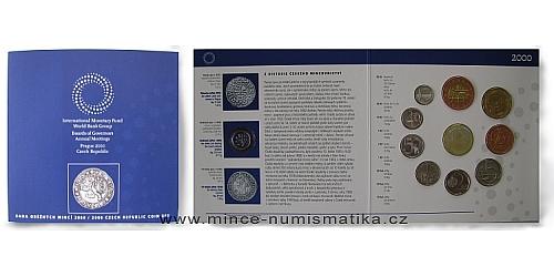 Sada oběžných mincí ČR 2000 - MMF