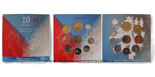 Sada oběžných mincí ČR 2003 - Standart (10 let ČR)