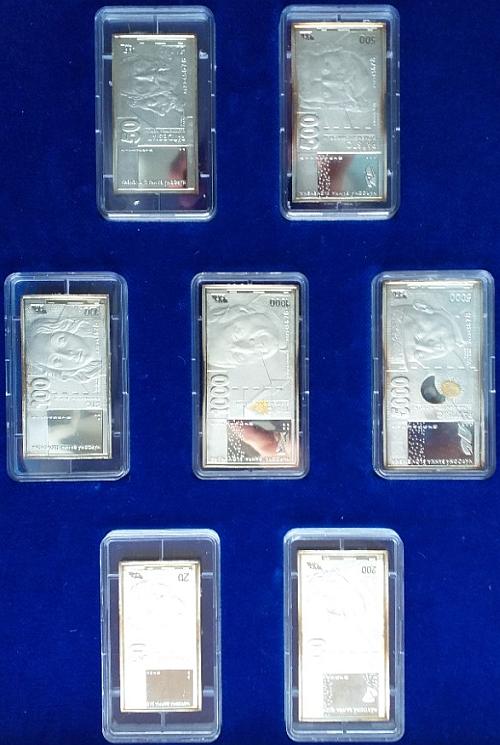 2003_Soubor_s_motivem_slovenskych_bankovek_Ag_proof