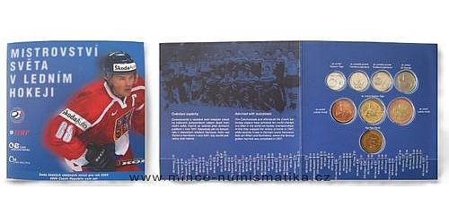 Sada oběžných mincí ČR 2004 - Hokej