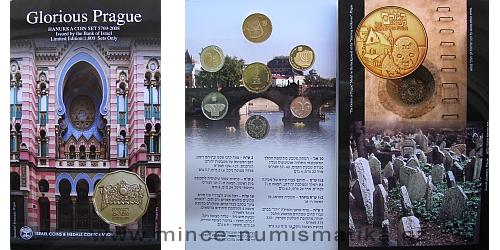 2008 - sada oběžných mincí Hanukka