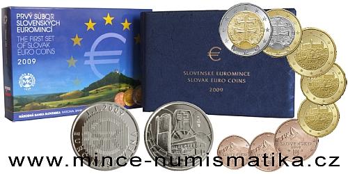 Sada oběžných mincí SR 2009 - PROOF like