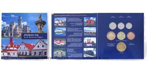Sada oběžných mincí ČR 2009 Kraje ČR - Jihočeský