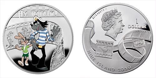 2010 - 1 $ Niue Island - Jen počej, zajíci! Ag