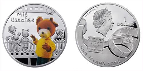 2010 - 1 $ Niue Island - Medvídek Ušáček Ag