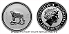 2007 - Stříbrná uncová mince Year of the Tiger 2010