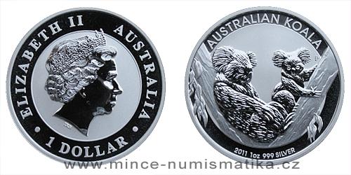 2011 Australian Koala 1 Oz - Ag
