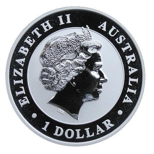 2011_1_dollar_Australian_koala_1_Oz_proof_avers